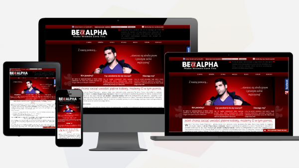 Be Alpha - Responsive web development
