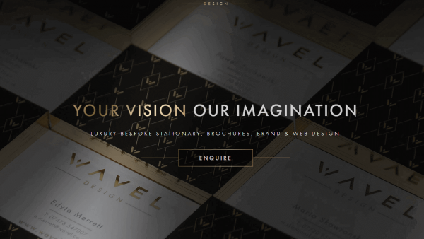 Wavel Design - Website development