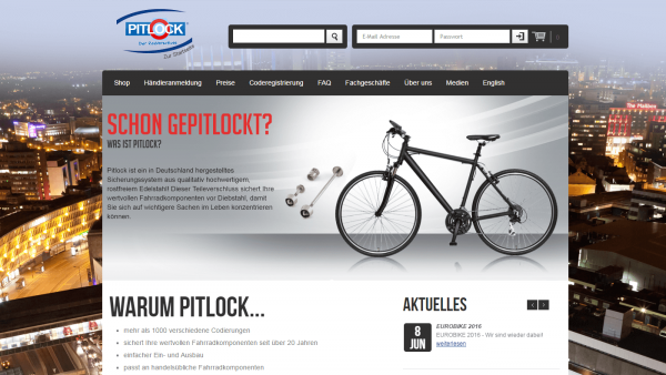 Pitlock theme - Theme for Magento