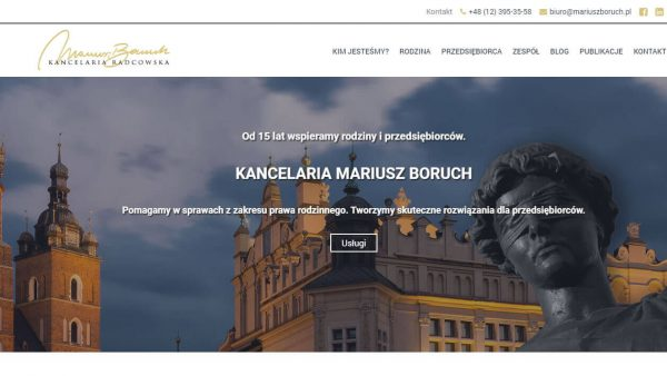 Mariusz Boruch - Website development