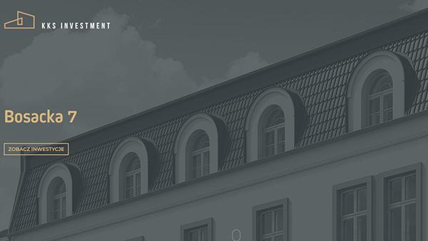 KKS Investment - Strona internetowa